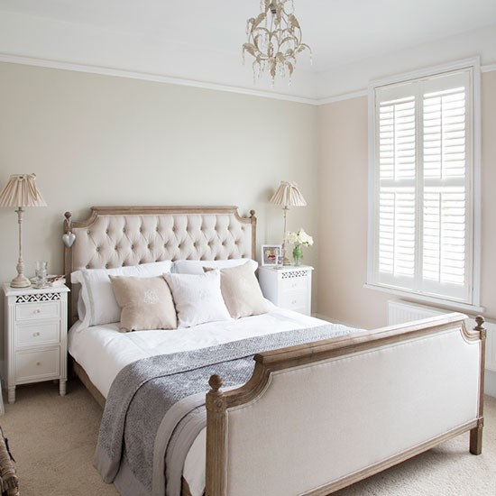 French inspired bedroom edwardian home in essex house for Classic french bedroom