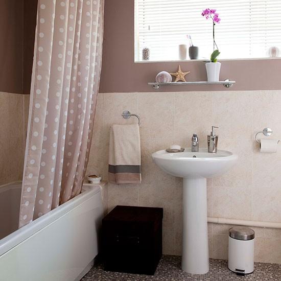 Pretty Pastel Pink Bathroom Small Bathroom Design Ideas