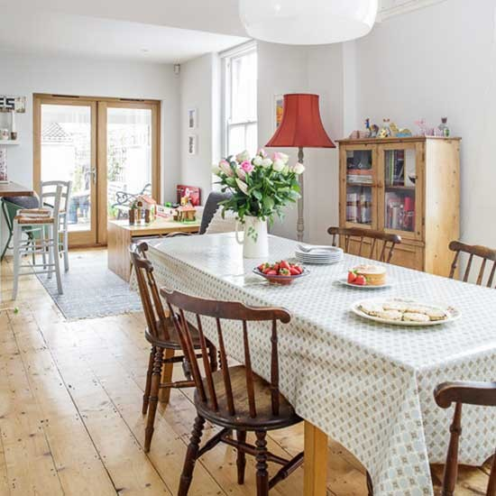 Dining area | Victorian end-of-terrace house | House tour | PHOTO GALLERY | Style at Home | housetohome.co.uk