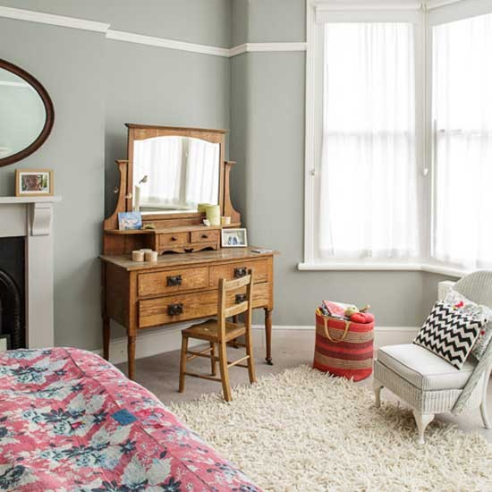 Main bedroom victorian bristol home house tour for Bedroom ideas victorian terrace