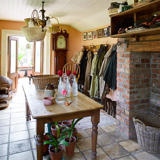 Boot room | Take a tour around a rural home in County Down | | House tour | PHOTO GALLERY | 25 Beautiful Homes | Housetohome.co.uk