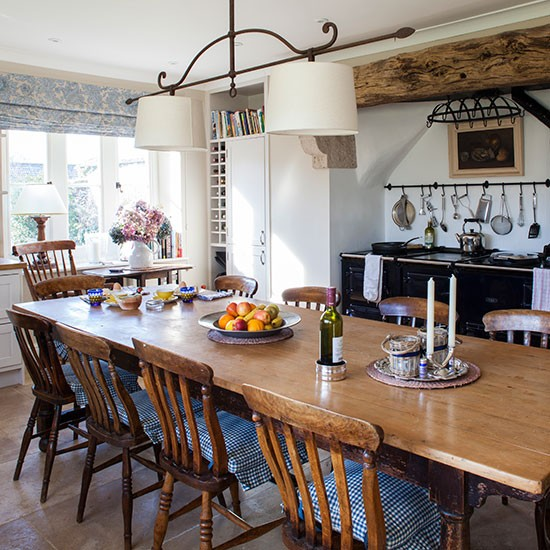 65 Gorgeous Farmhouse Dining Room Table and Decorating