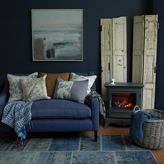 denim blue living room country living room ideas 30 of the best
