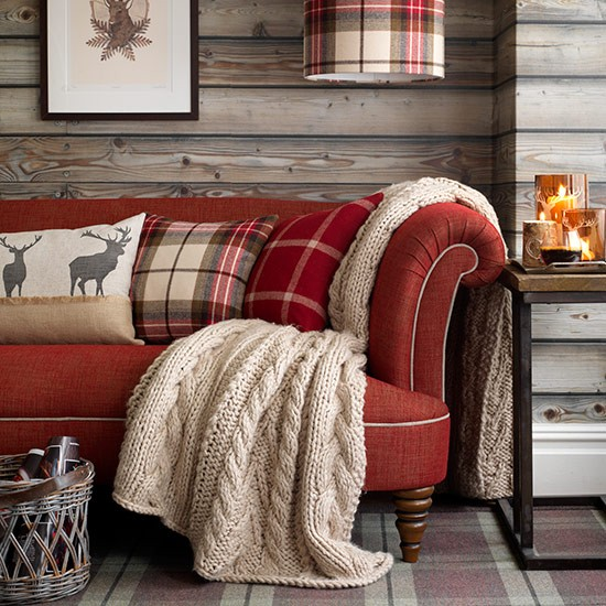 Highland living room | Country living room design ideas | Living room | PHOTO GALLERY | Country Homes and Interiors | Housetohome.co.uk