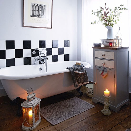 Bathroom | House tour | Hertfordshire | PHOTO GALLERY | Country Homes & Interiors | Housetohome.co.uk