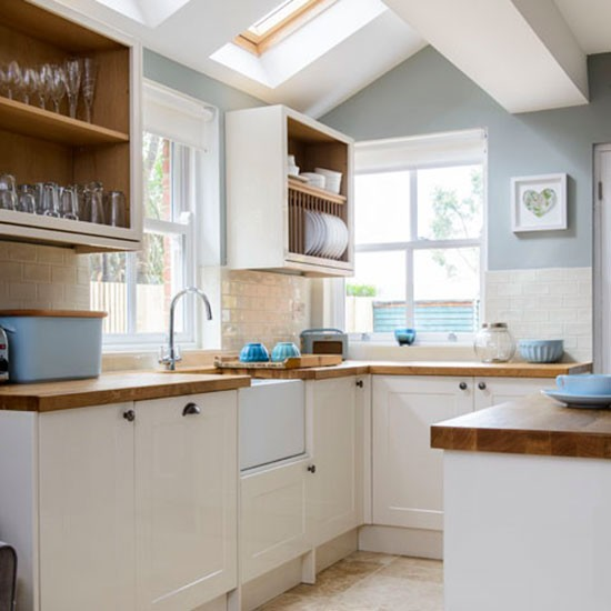 Kitchen extension victorian semi in berkshire house for Small victorian kitchen designs