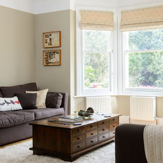 Living room victorian semi in berkshire house tour for Living room ideas 1930s semi