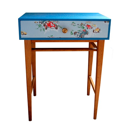 Boy 39 S Mid Century Modern Bedside Table From Lovestruck