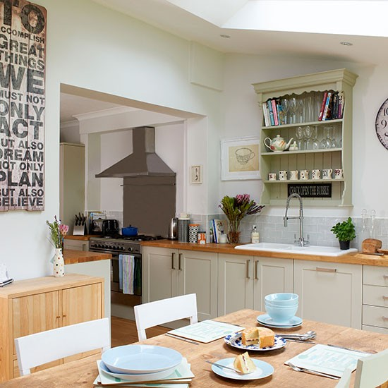 Modern bathroom decorating - With Skylight Kitchen Decorating Style At Home Housetohome Co Uk