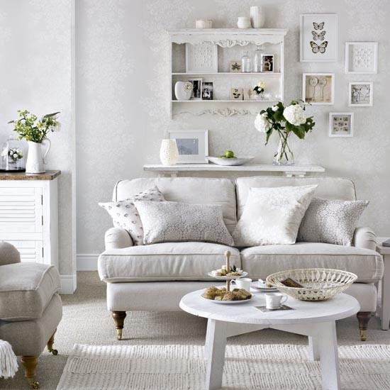 White-on-white living room | Traditional living room design ideas | Living room | PHOTO GALLERY | Housetohome.co.uk