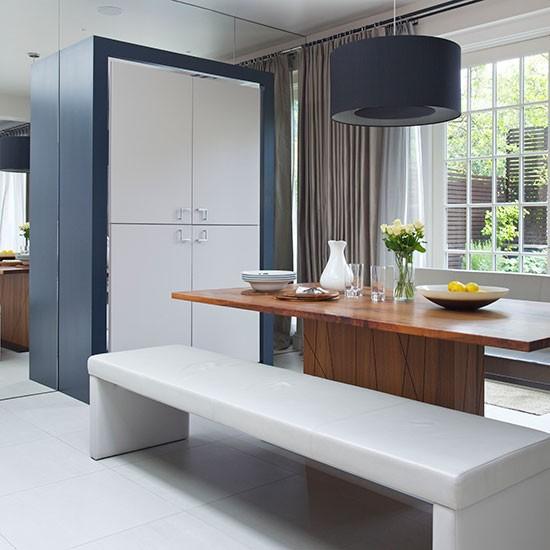 Modern Blue-black Kitchen