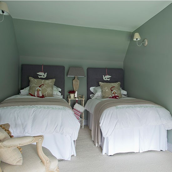 sage green and white twin bedroom bedroom decorating homes
