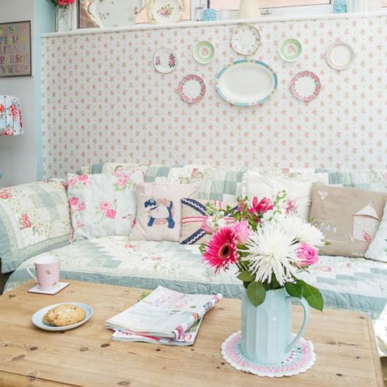 Pastel Living Room Family Living Room Design Ideas