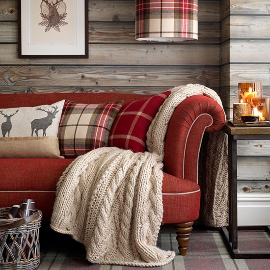 Decorating With Accessories Magnificent With Red Country Living Room Ideas Photos