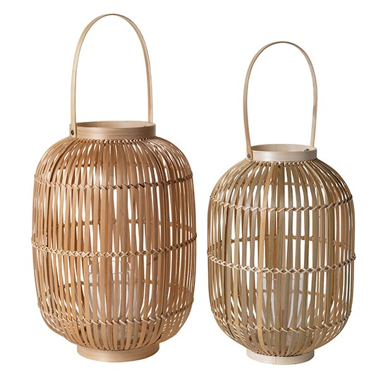 Bamboo Lanterns From House Of Fraser Zen Home Accessories Shopping