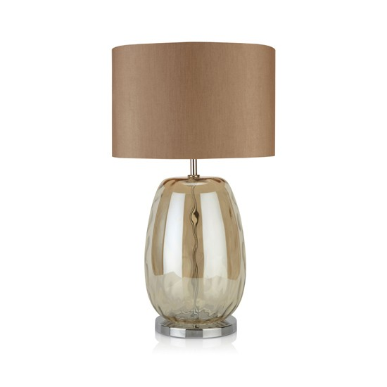 mink glass table lamp from next cosy home accessories. Black Bedroom Furniture Sets. Home Design Ideas