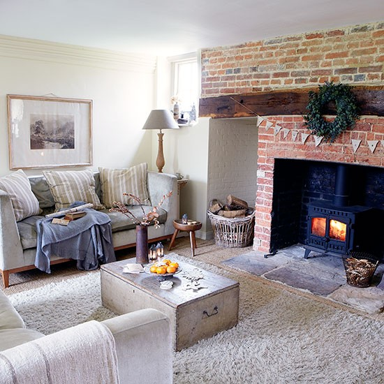 Living room | Period farmhouse in West Sussex | House tour | PHOTO GALLERY | Country Homes and Interiors | Housetohome.co.uk