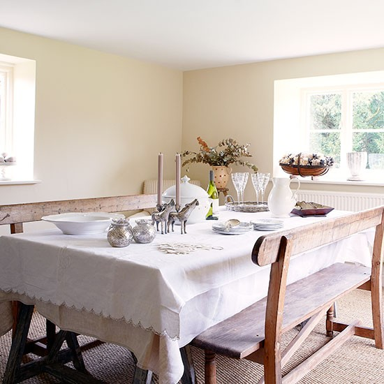 Dining room | Period farmhouse in West Sussex | House tour | PHOTO GALLERY | Country Homes and Interiors | Housetohome.co.uk