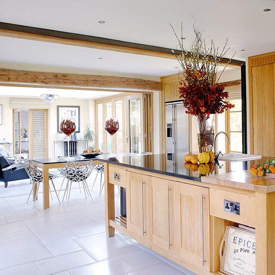 with island  Openplan kitchen design ideas  housetohome.co.uk