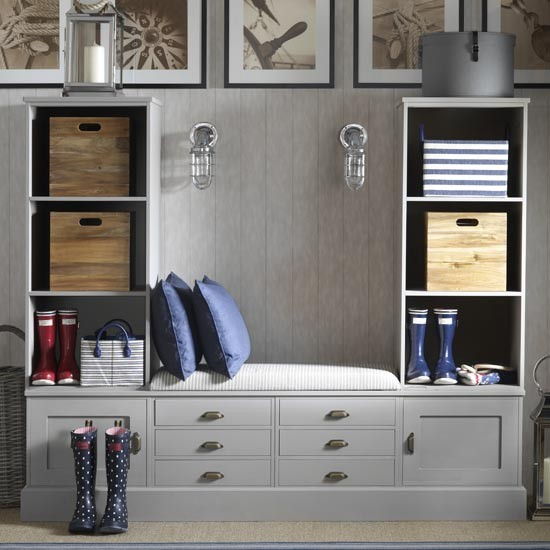 Tailor-made hallway storage | Small hallway design ideas | Hallway | PHOTO GALLERY | Ideal Home | Housetohome.co.uk