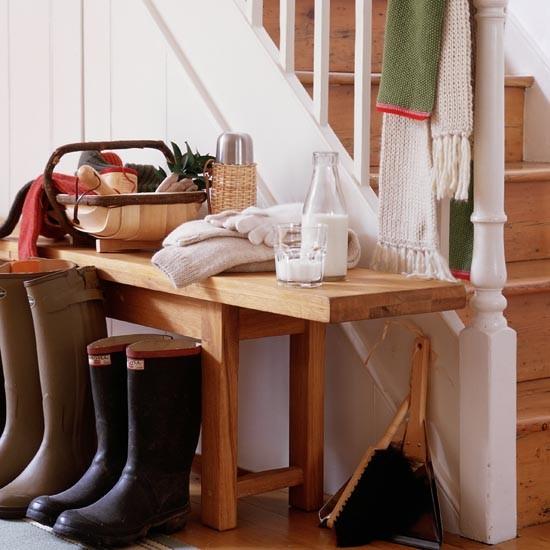 Handy folyosón pad | kis folyosón tervezési ötletek | Előszoba | KÉPGALÉRIA | Ideal Home | Housetohome.co.uk