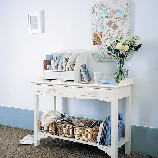 Hallway organisation station | Small hallway design ideas | Hallway | PHOTO GALLERY | Ideal Home | Housetohome.co.uk
