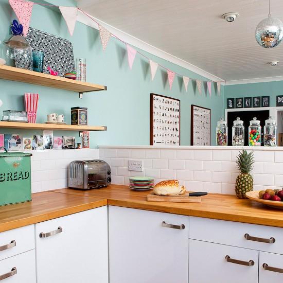 Vintage Style Kitchen Area