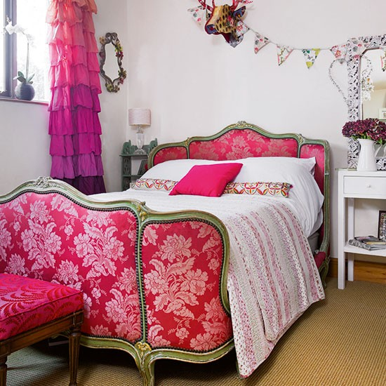 Girl's bedroom | Leicestershire barn conversion | House tour | House tour | PHOTO GALLERY | 25 Beautiful Homes | Housetohome.co.uk