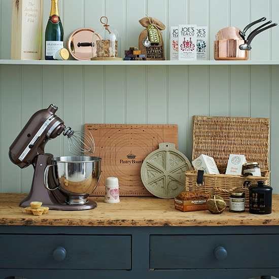 Country Kitchen With Wood Wall Panelling Country Kitchen Design Ideas Decorating