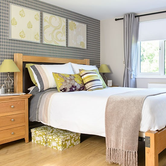 Lime Green And Grey Bedroom Summer Decorating Ideas Decorating Housetoh