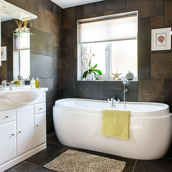 Innovative Brown And White Bathroom Ideas Brown And White Bathroom Ideas  Design