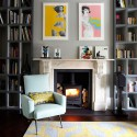 Take a tour around a retro chic west London townhouse