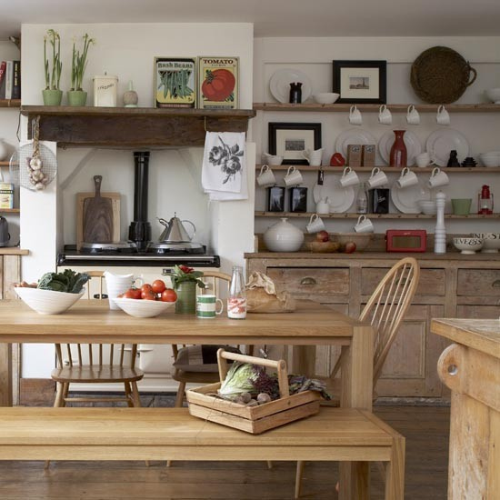 Country Kitchen Look: Rustic Country Kitchen-diner