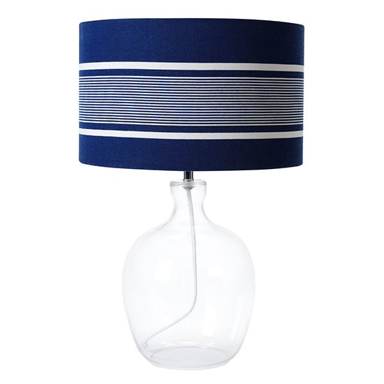 Nautical Stripe table lamp by Linea at House of Fraser  : Linea nautical stripe table lamp from House of Fraser from housetohome.co.uk size 550 x 550 jpeg 28kB