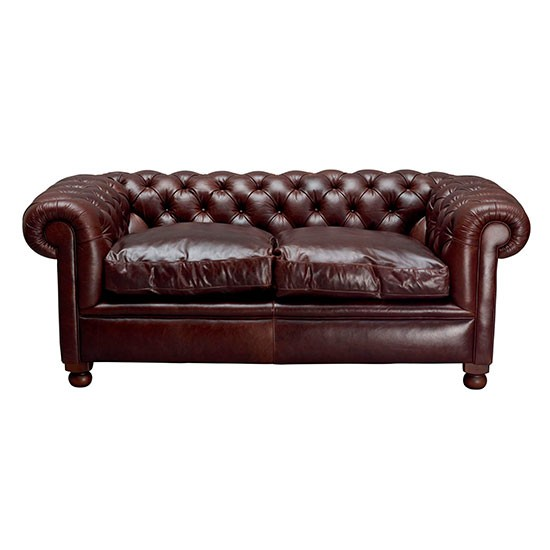Rochester leather sofa from Laura Ashley Heritage trend 2014 Shopping housetohome co uk