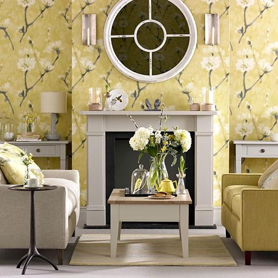 Elegant Georgian Style Living Room Decorating