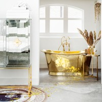 Glitzy and glorious bathroom ideas