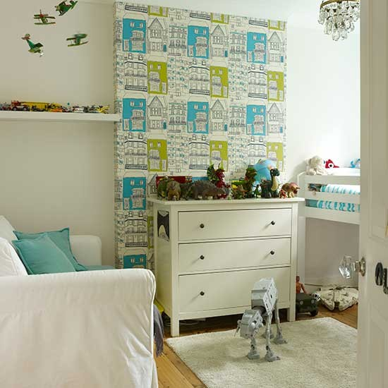 Child 39 S Bedroom With Raised Bed Small Living Space