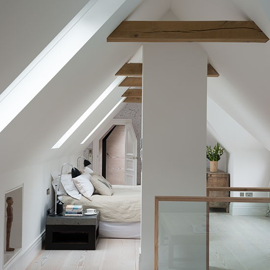 how to decorate a bed sit in the attic