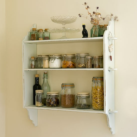 Shelves For Kitchen Wall: Traditional Kitchen Pictures