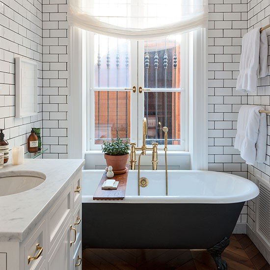 Bathroom Smart New York Brownstone House Tour