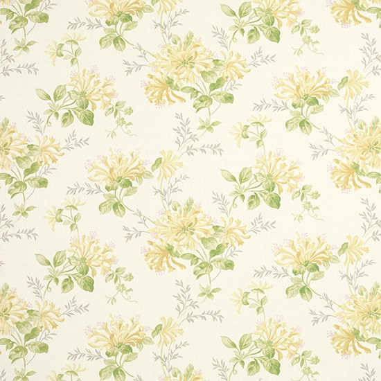 Honeysuckle Trail Fabric From Laura Ashley Floral