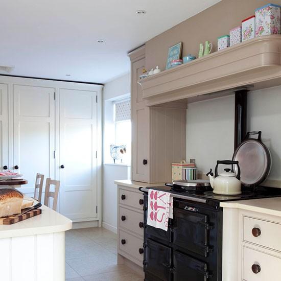 Kitchen Shelf Above Cooker: Above The Aga Kitchen Storage