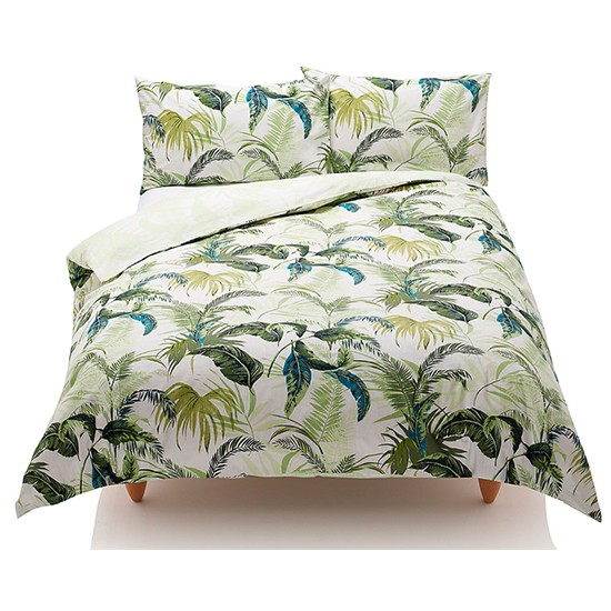 palm leaf bedding from marks spencer palm leaf micro. Black Bedroom Furniture Sets. Home Design Ideas