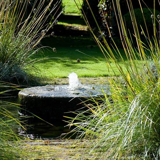 Soothing Garden Water Feature Relaxing Garden Design