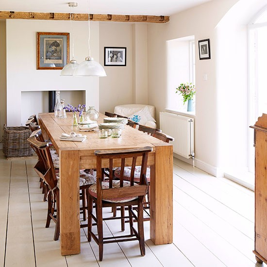 Dining room | Oxfordshire country house | House tour | PHOTO GALLERY | Country Homes and Interiors | Housetohome.co.uk