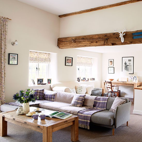 Living Room Modern Oxfordshire Country House House Tour