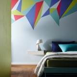 Wake up your walls with these striking paint ideas from Crown