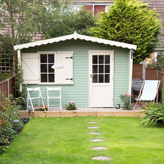 Easy garden transformations for Garden shed ideas uk