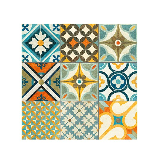 Patchwork Kitchen Wall Tiles: Louane Patchwork Tiles From Walls And Floors